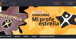 """Novena versión del concurso """"Mi profe estrella"""""""