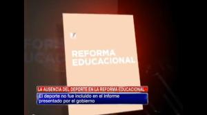 La ausencia del deporte en la reforma educacional
