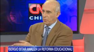 """Sergio Bitar sobre reforma educacional: """"La comunicación con la gente es importante"""""""