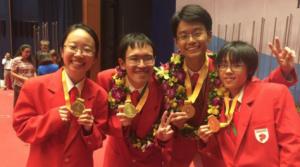 Estudiantes de Singapur brillan en las competiciones internacionales de ciencia y matemáticas