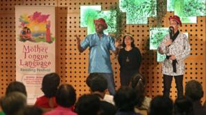 Contando historias en los 3 idiomas madres