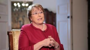 "Presidenta Michelle Bachelet: ""No quiero un Transantiago en educación"""
