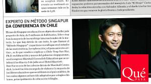 Qué Pasa – Dr. Yeap Ban Har en Chile